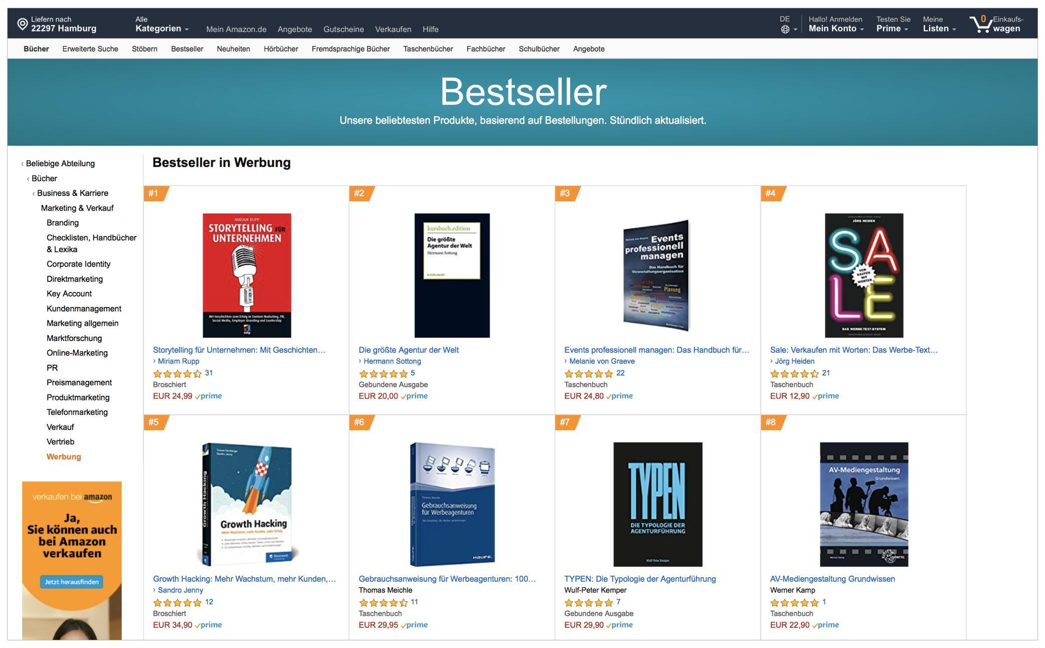 """""""TYPEN - Die Typologie der Agenturführung"""" von Wulf-Peter Kemper - bei Amazon."""