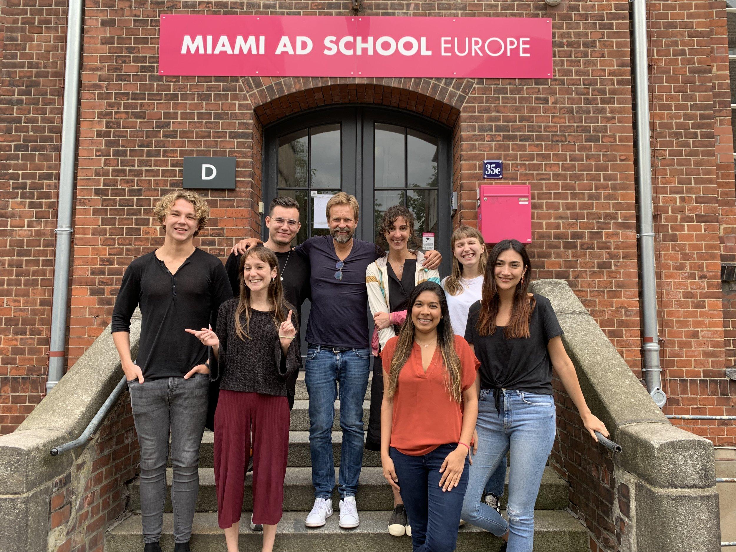 Planning Bootcamp  Miami Ad School Europe  08/2019 - mit schlauen coolen Köpfen aus der ganzen Welt.