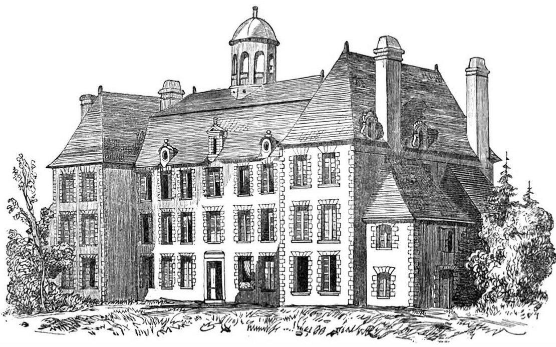 Le château Turgot à son origine