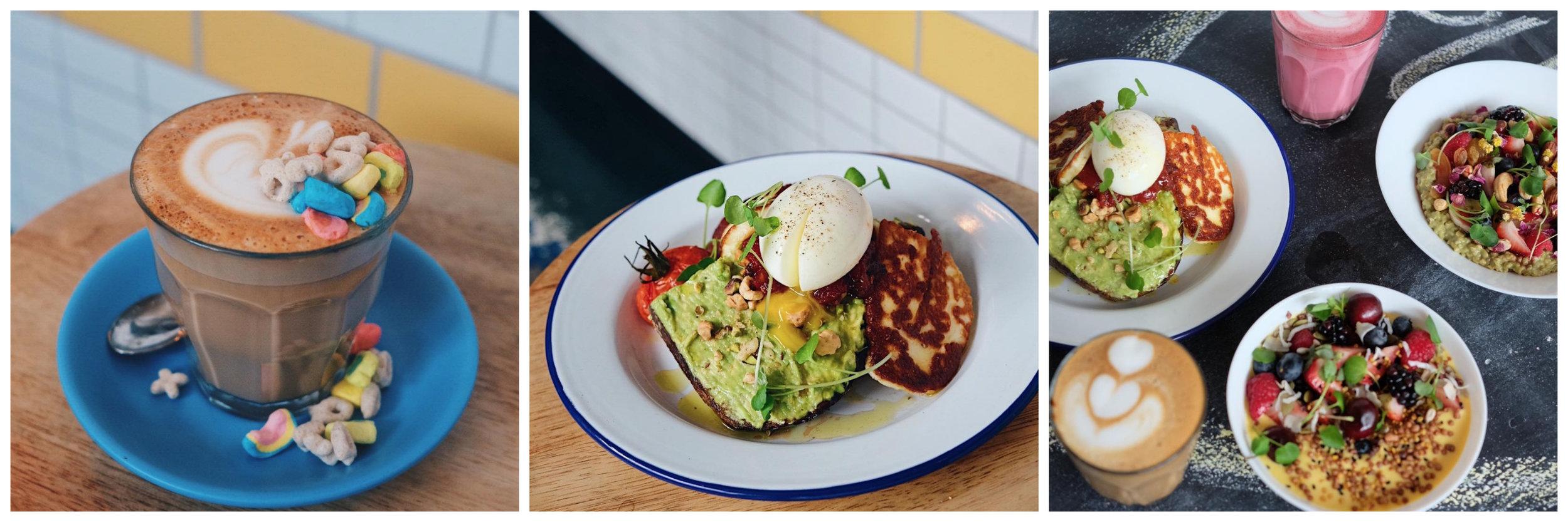 Crédit photo (gauche à droite) :  lemelbournecafe