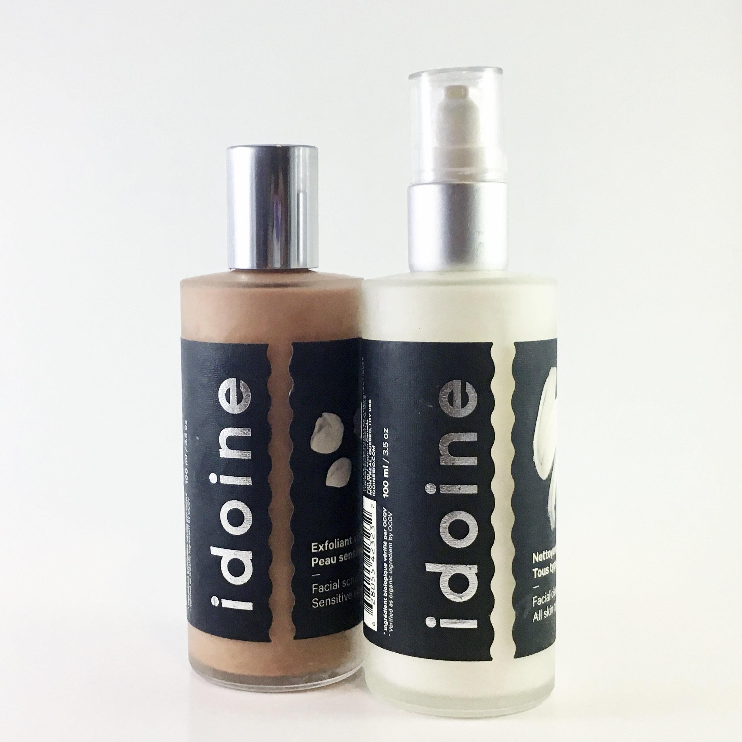 idoine, nettoyant visage, soin pour la peau, skincare