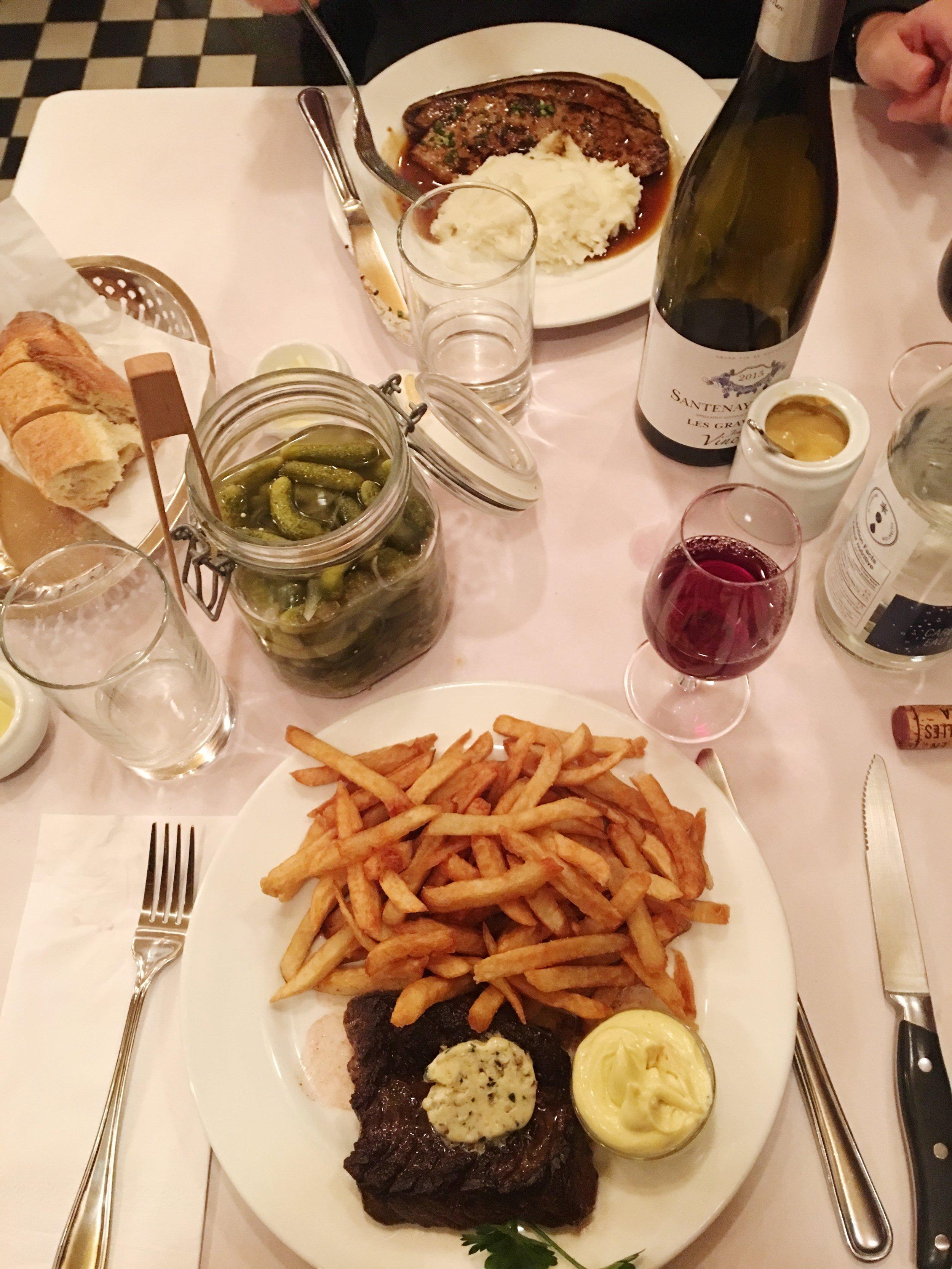 Onglet et foie de veau -Crédit photo : Juliette Cordeau