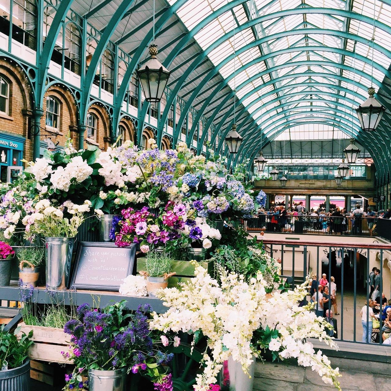 Covent Garden -Photo credit:  Tumblr.
