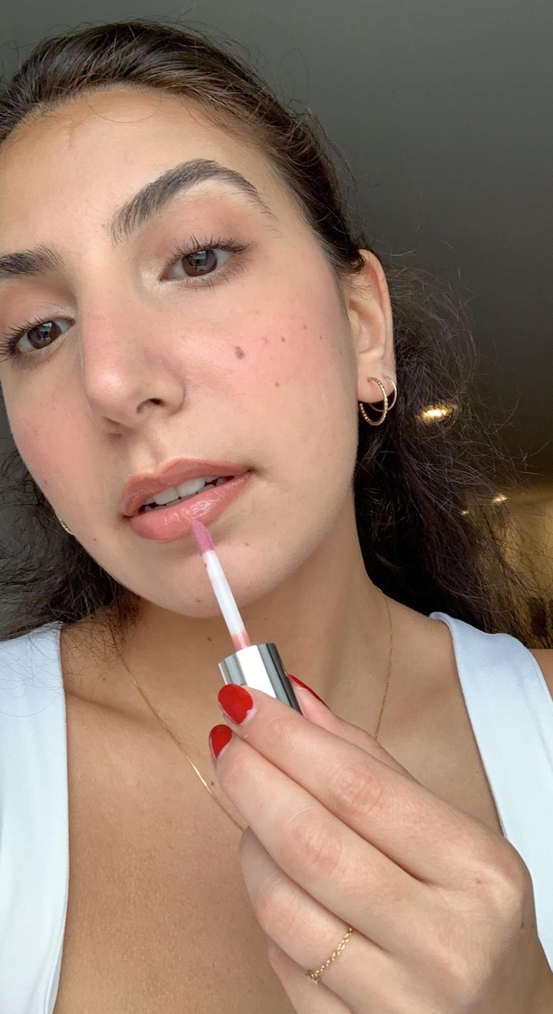 beauty,lip gloss, gloss, spring, spring look, spring makeup look, makeup , mua, benefit cosmetics, sephora, bareminerals, sephora collection, spring beauty, beauty, cosmetics, makeup tutorial, bb cream, cream blush, glowy, glowy makeup look