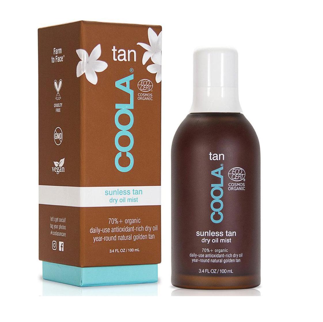 SHOP THIS →   Huile sèche bronzante sans soleil biologique 100 ml