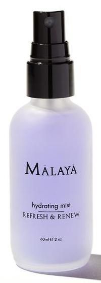 malaya organics, malaya, non toxic beauty produits, non toxic skincare, natural skincare, natural mist, maquillage naturel, soin de peau naturel, beauties lab, beauties and co