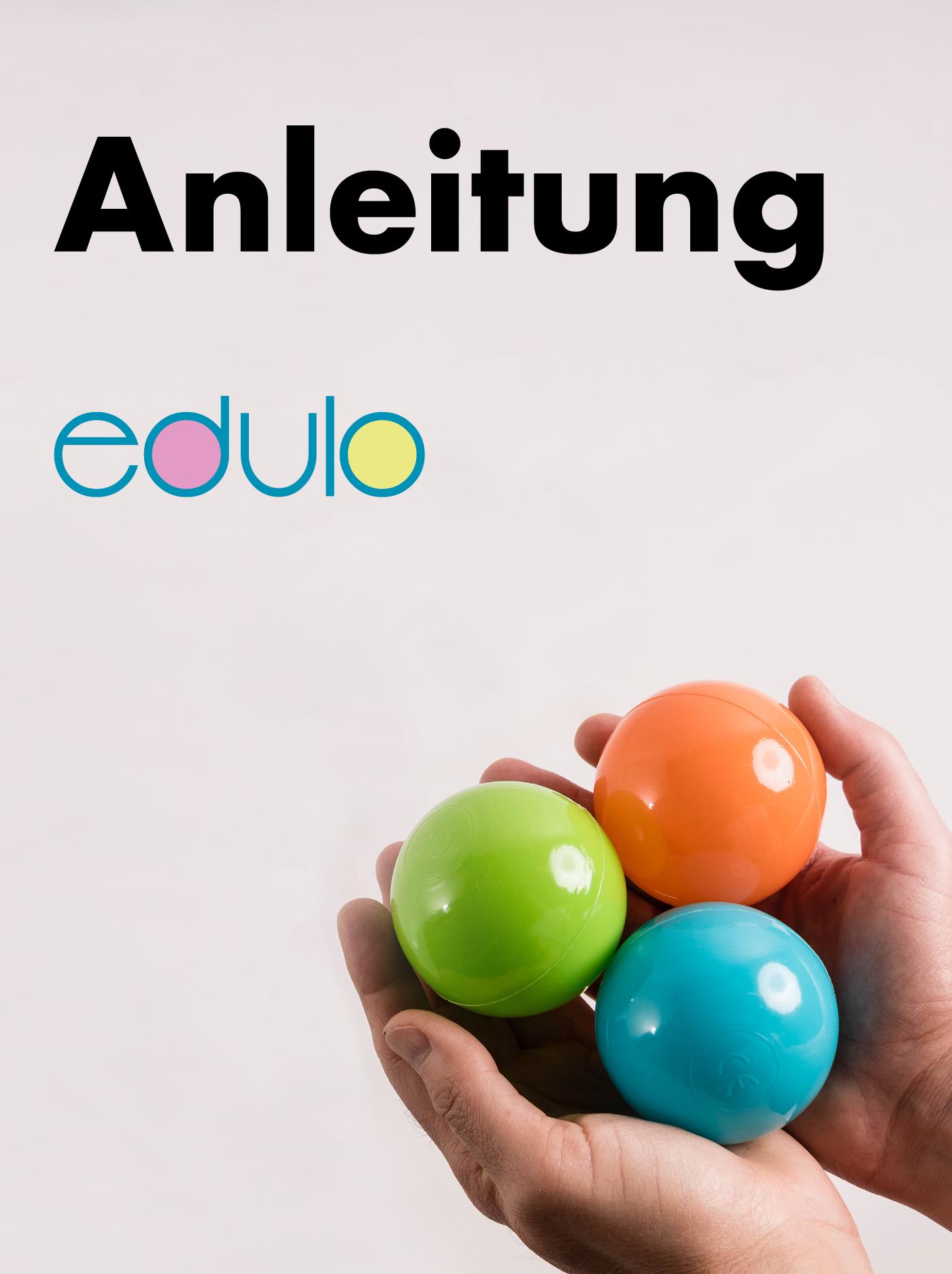 """Buch """"Anleitung edulo"""""""