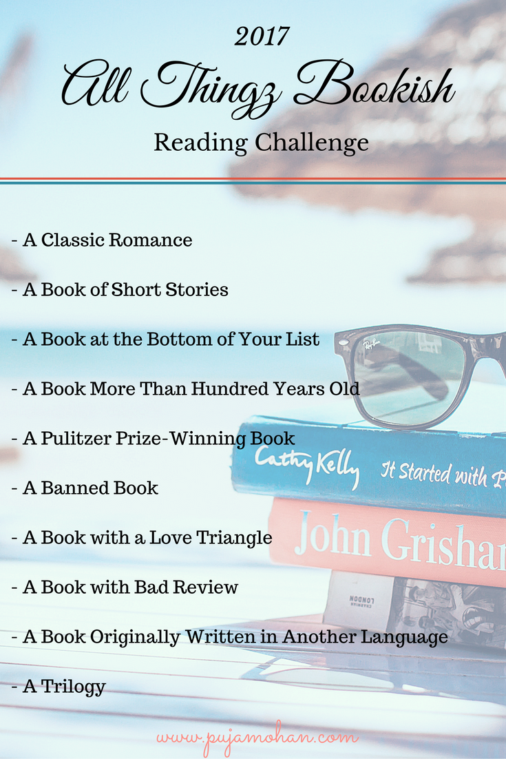 All Thingz Bookish Reading Challenge 2017