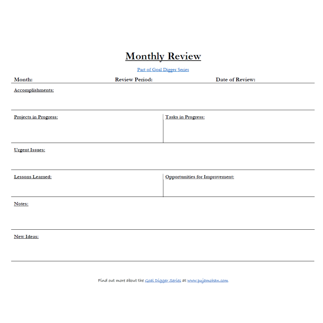Monthly-Review-Goal-Digger-Series-pujamohan.com.png