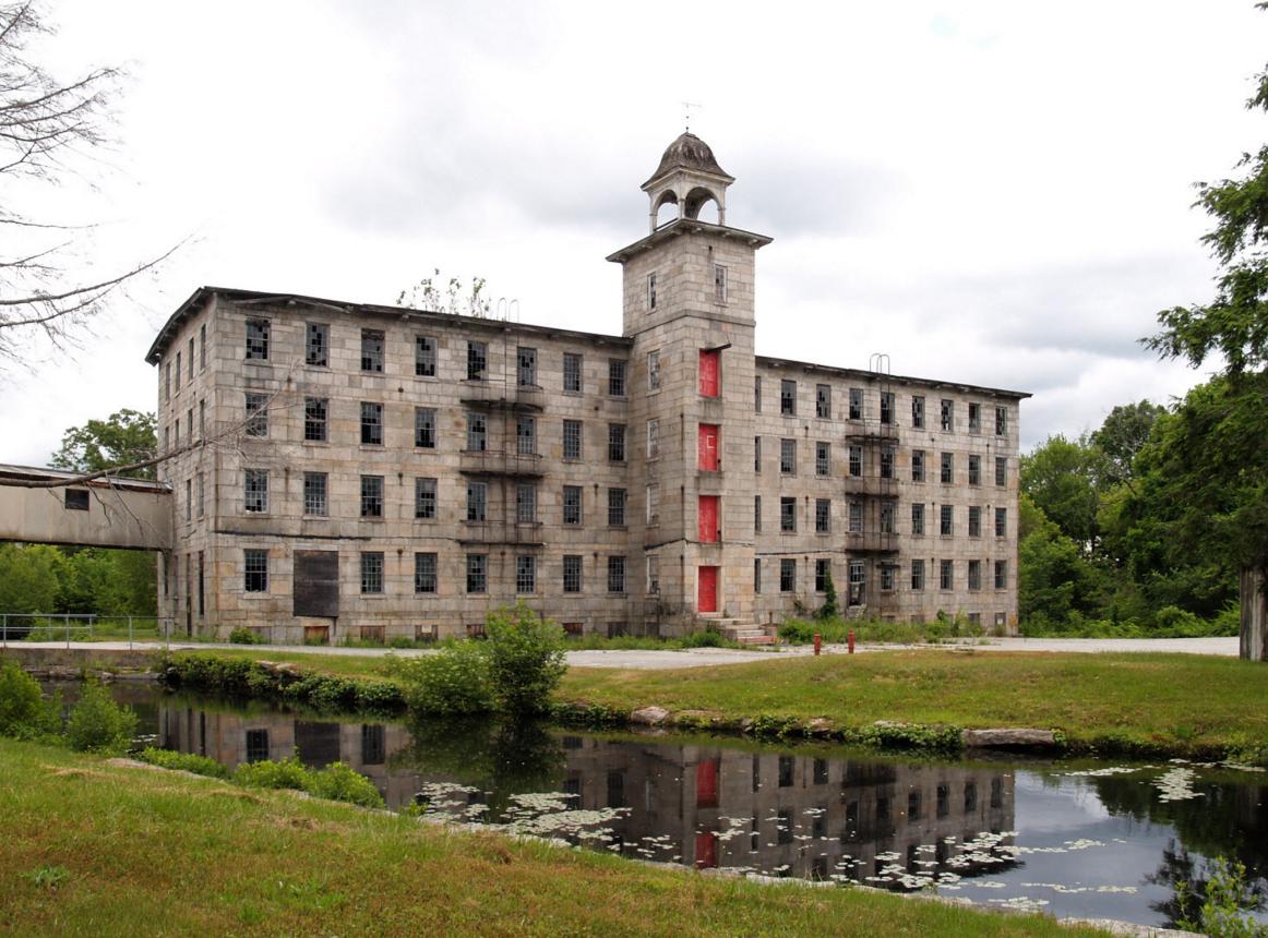 Slatersville Mill, North Smithfield, RI