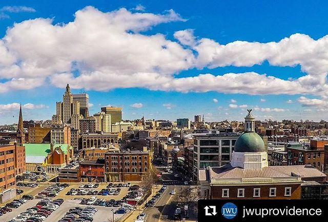 #Repost @jwuprovidence ・・・ View from the top. #SightsofJWU
