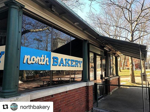 Best sign of Spring, @northbakery reopens just steps from our front door. This Monday, 7am. Yum! #repost @northbakery