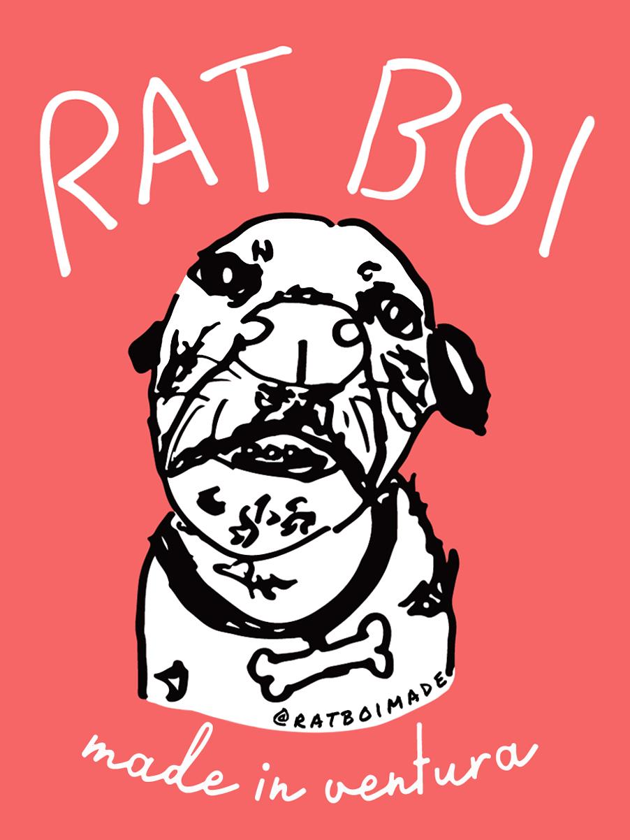 Rat Boi Stickers  Sharpie, Digital Art