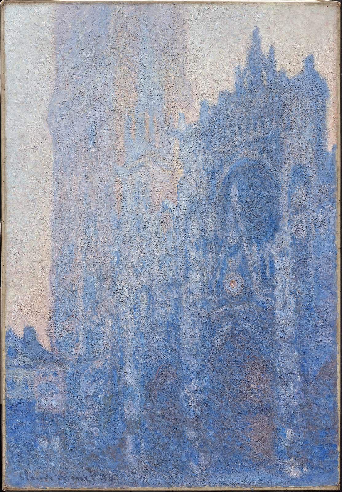 La catedral de Rouen por Monet