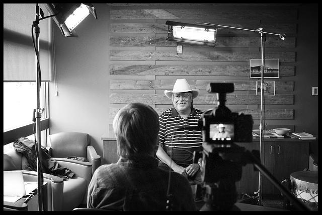 Mat Hames interviews Sam Dresser, Northern Arapaho tribal member from the Wind River Reservation