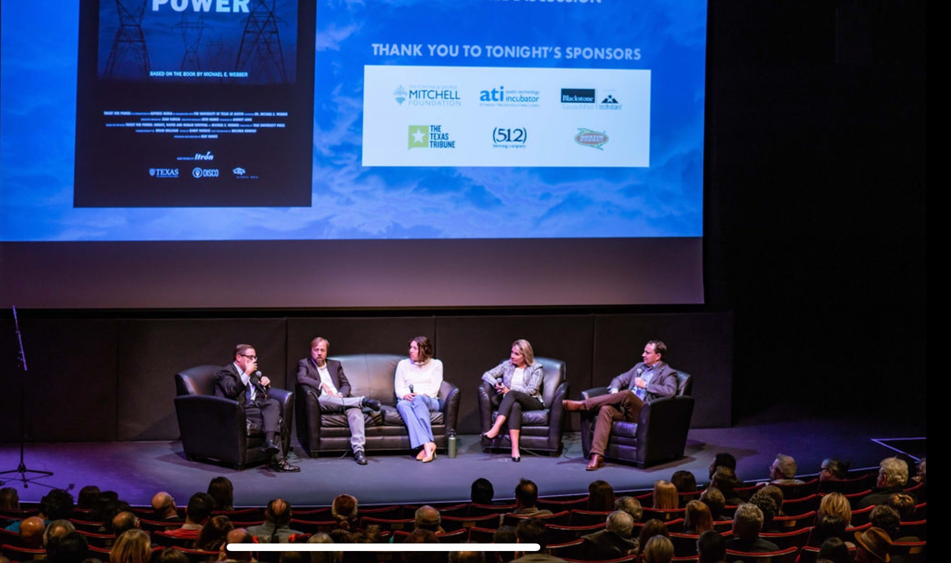 'Thirst For Power' Preview Screening @ The Paramount Theater, Austin Texas , December 2018