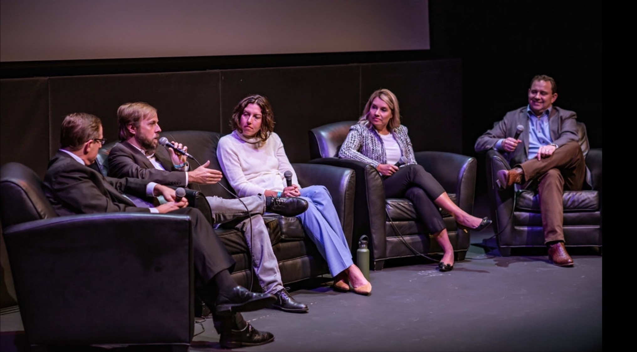 'Thirst for Power' Panel Discussion @ Paramount Theater Austin Texas December 2018