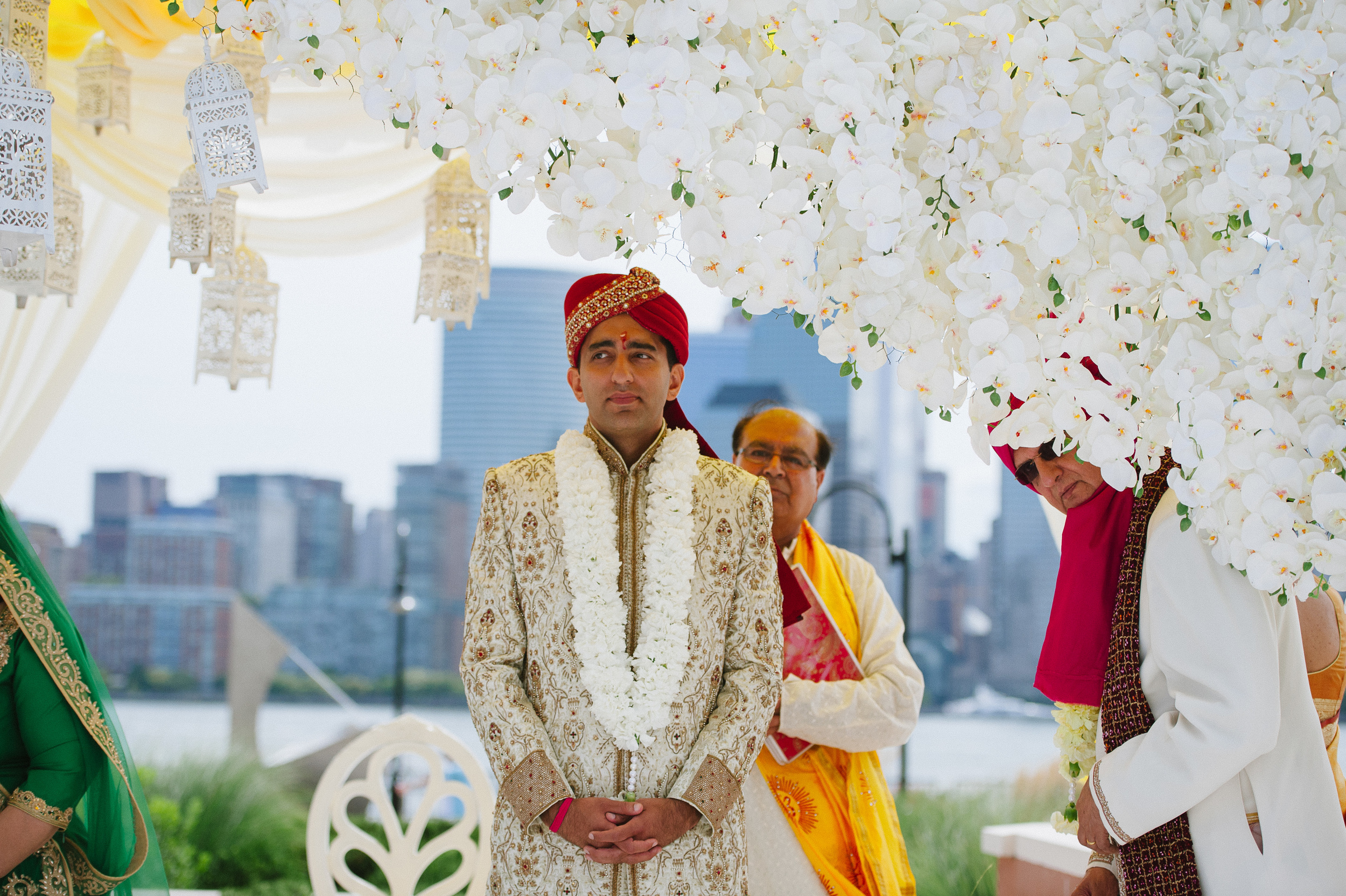 GROOM IN MANDAP