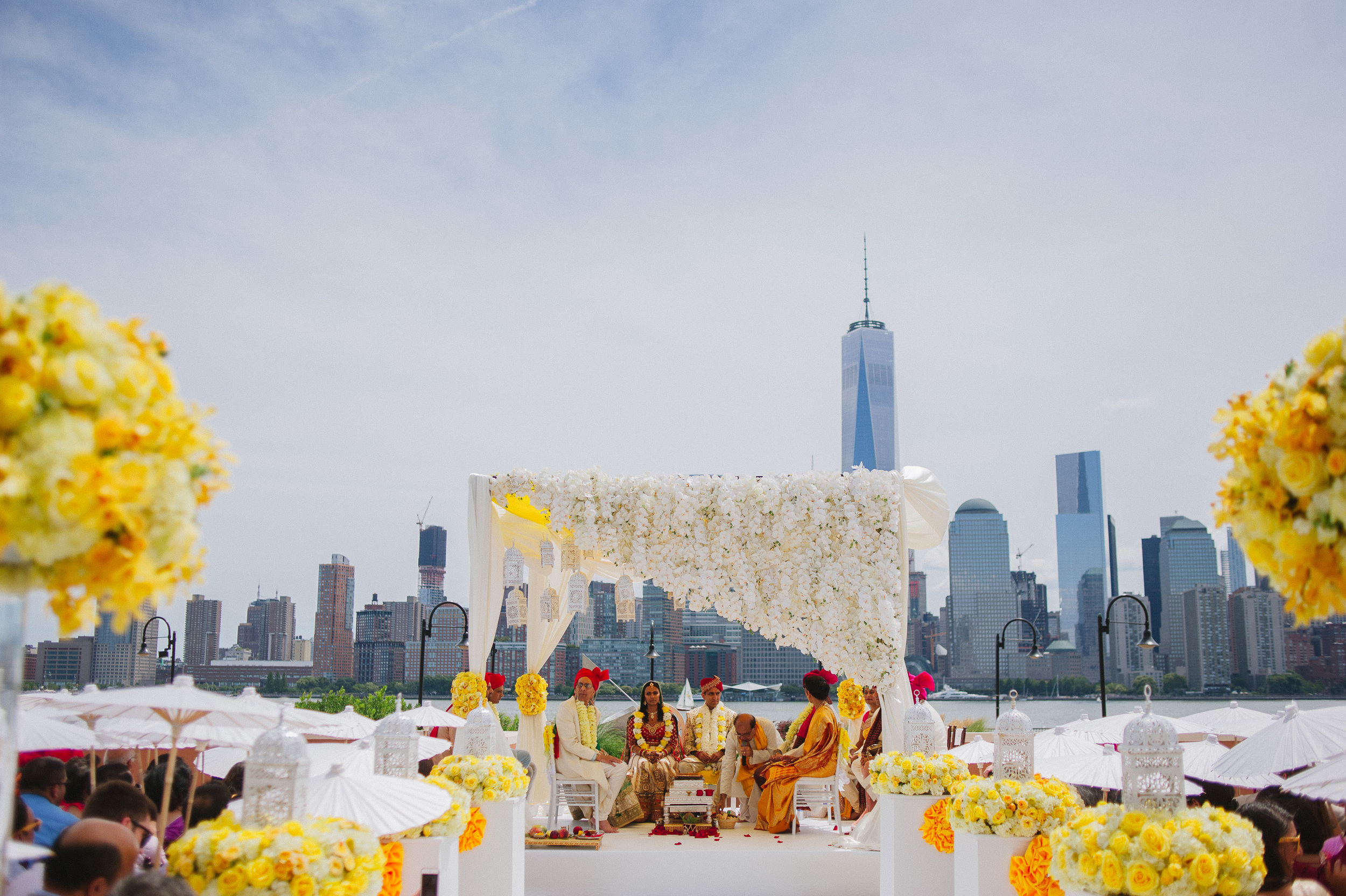 MANDAP AND NYC SKYLINE