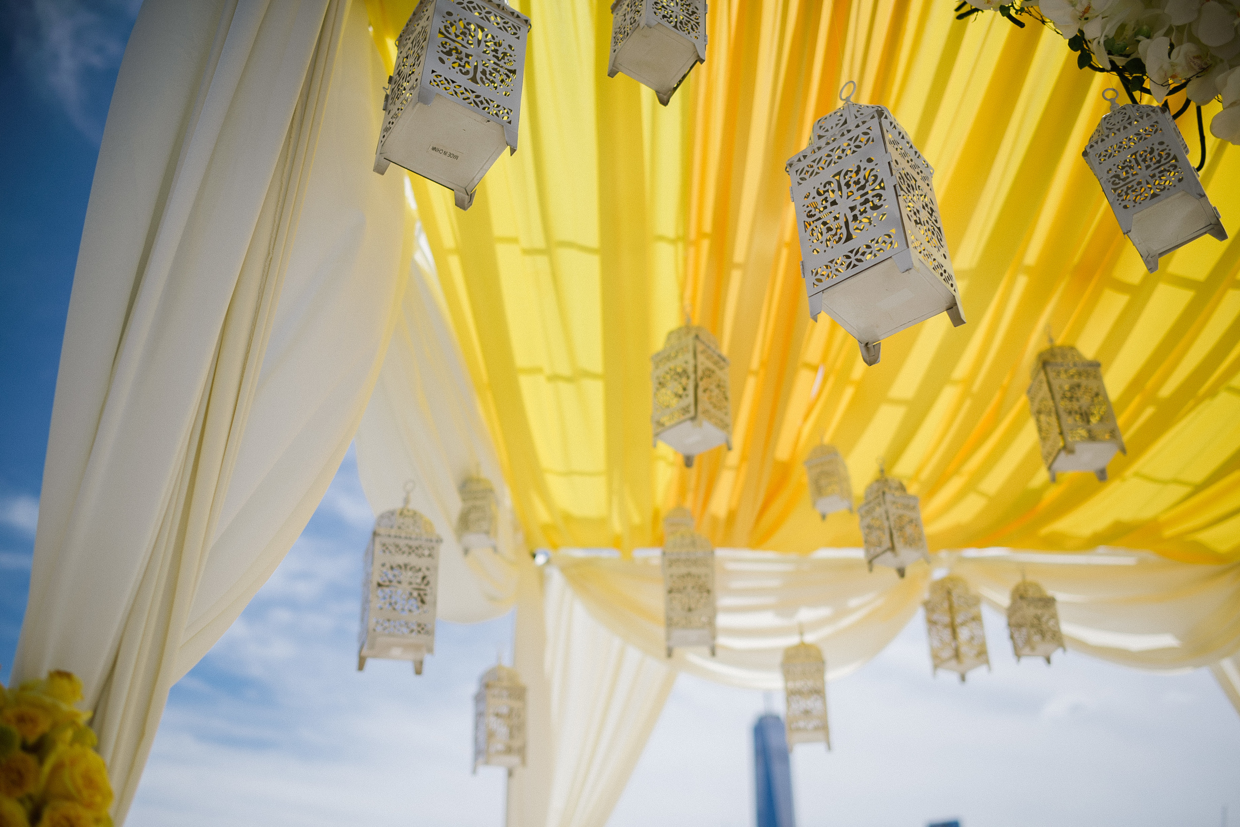 LANTERNS IN MANDAP