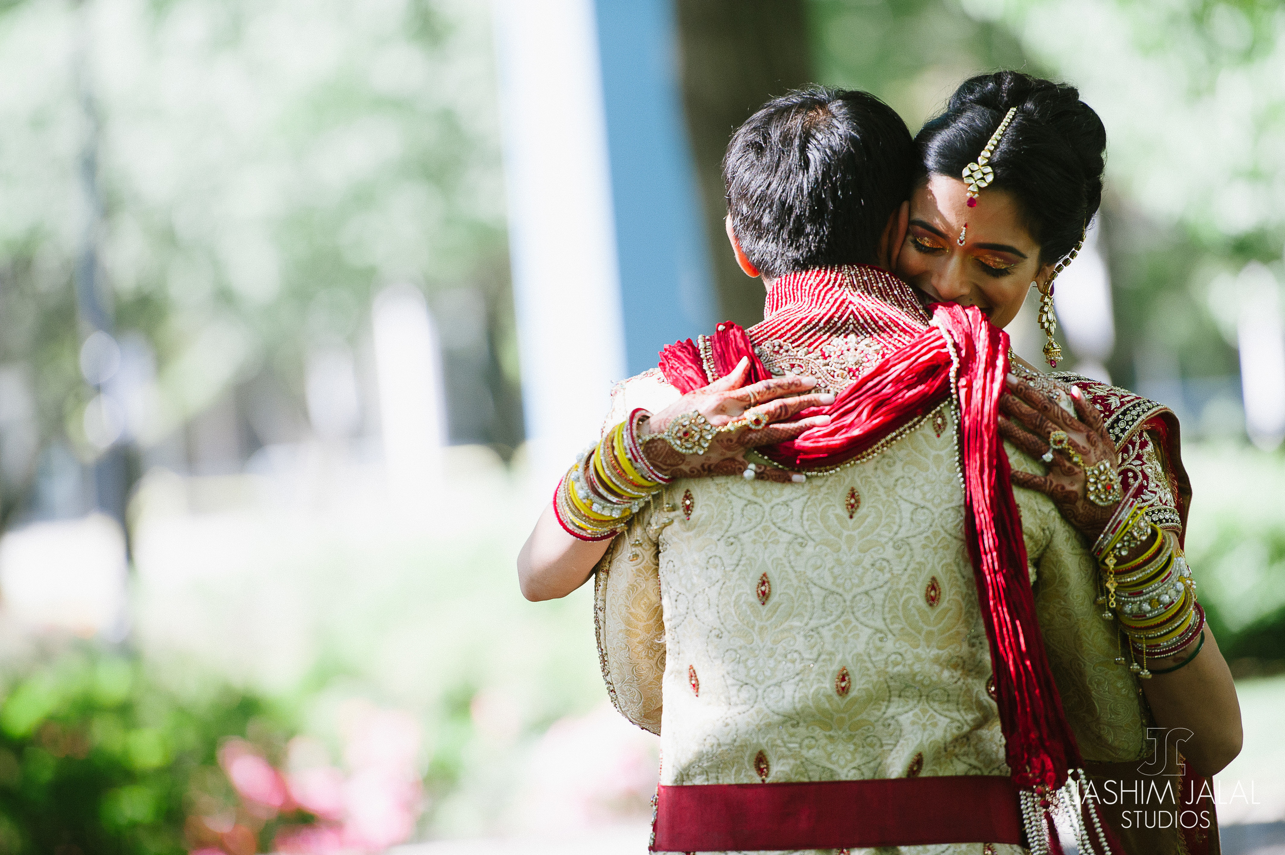 INDIAN COUPLE HUGGING