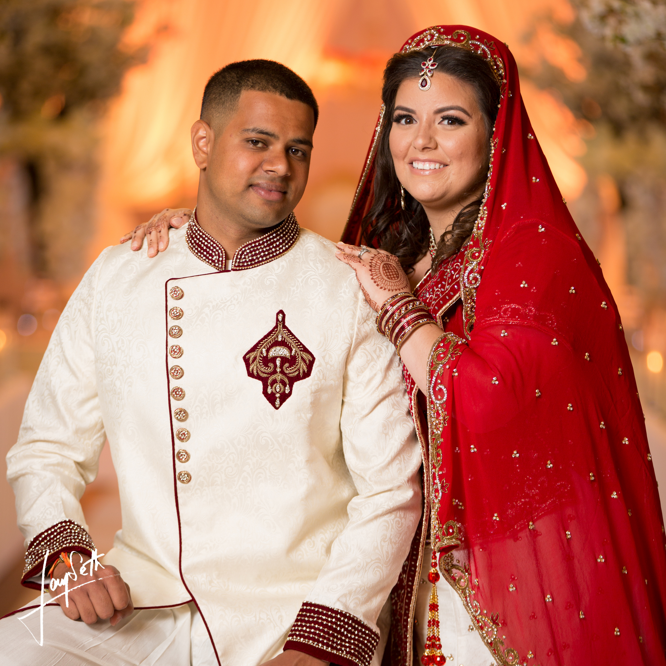 PRETTY INDIAN COUPLE