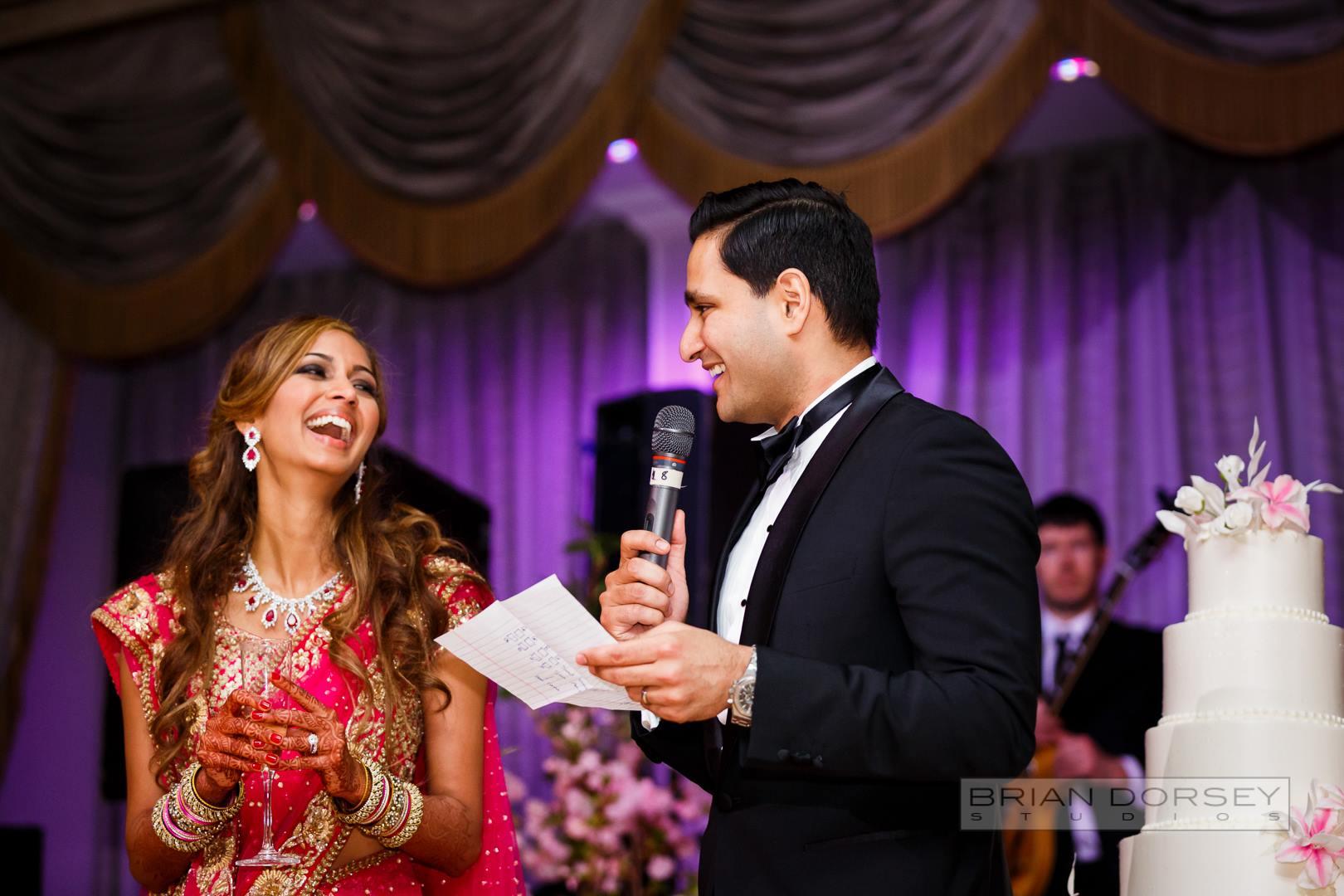 Indian couple speech