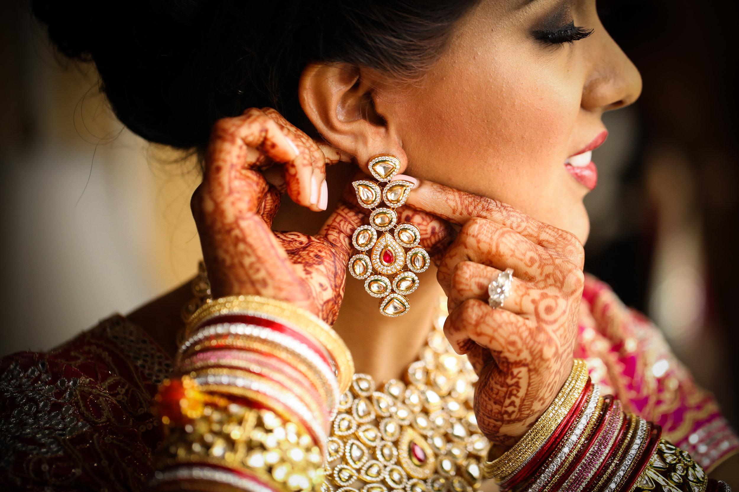 Indian Bride Earrings