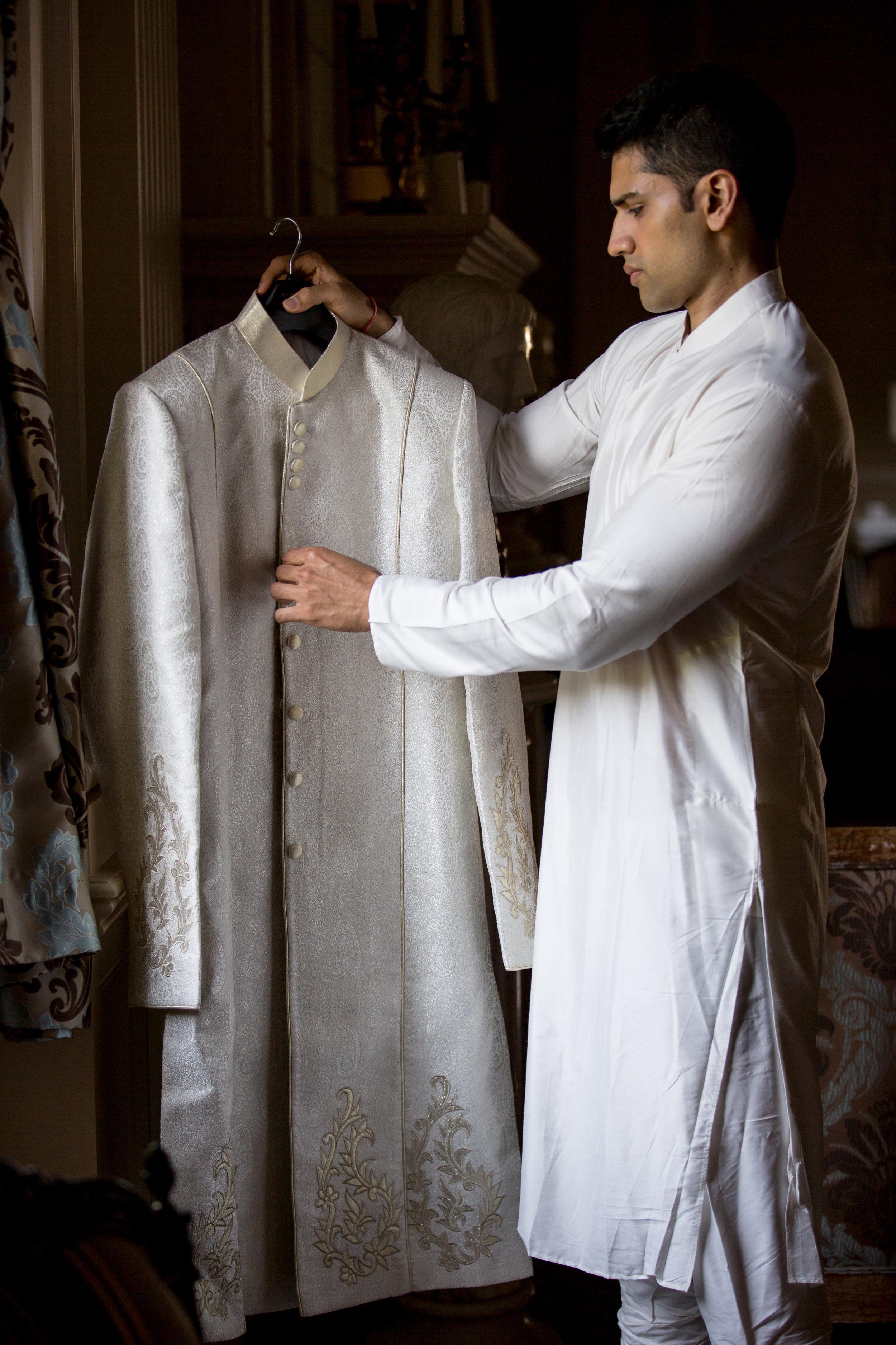 groom and jacket
