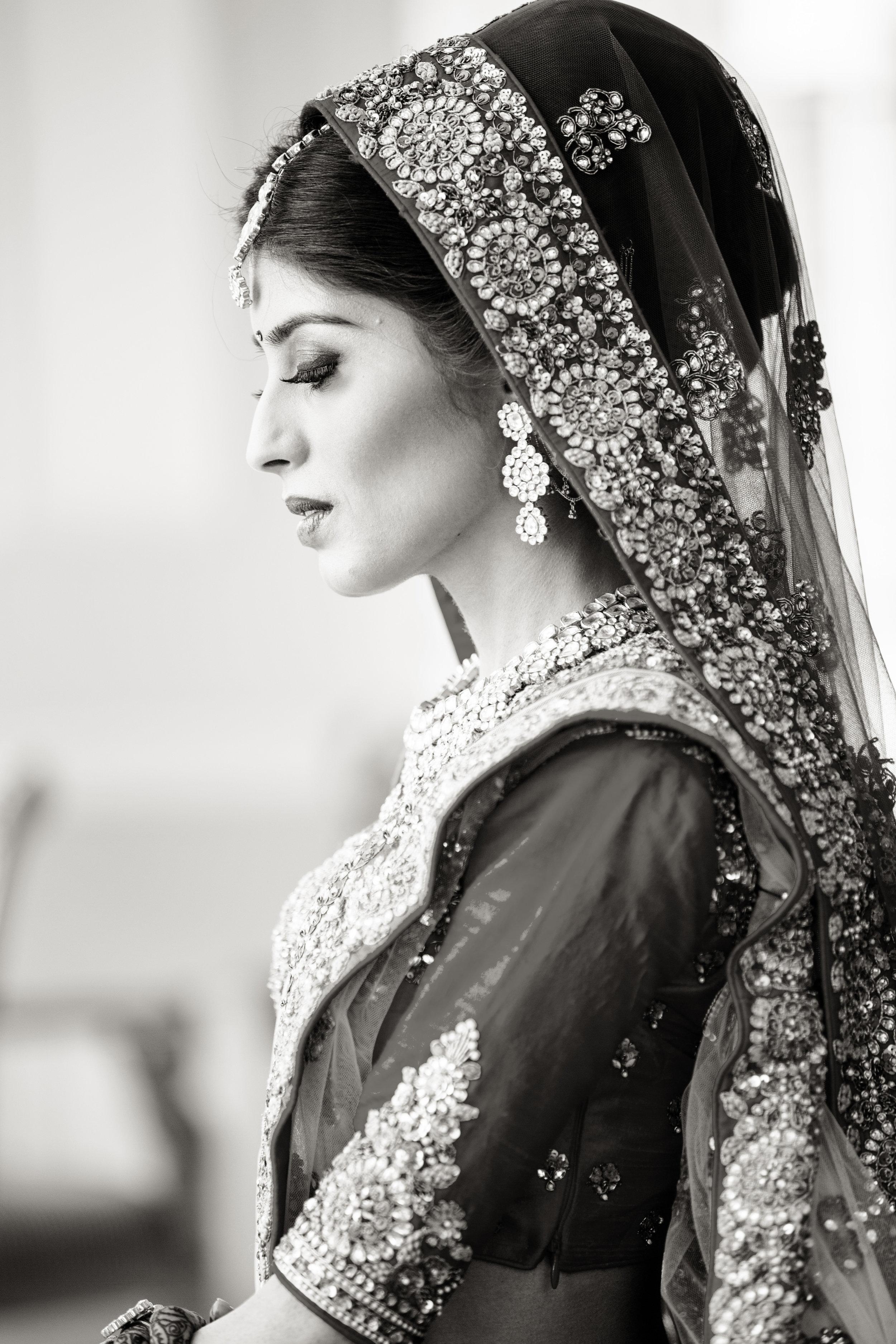 bride side look