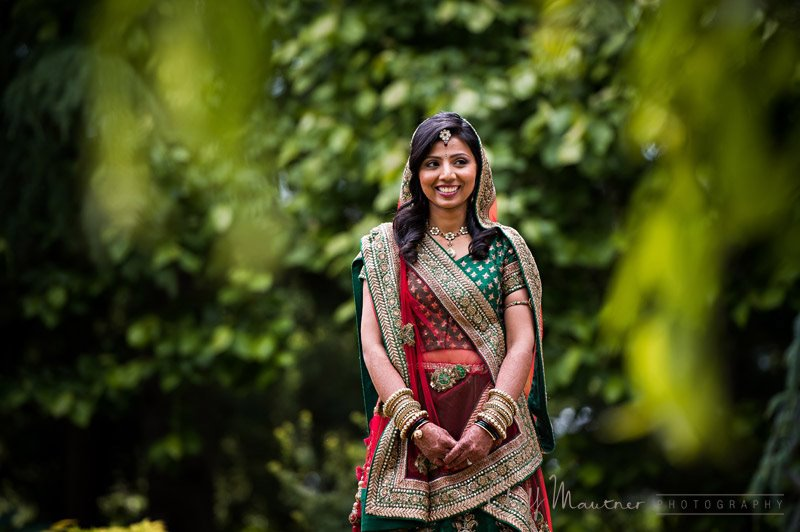 INDIAN BRIDE WITHIN THE TREES