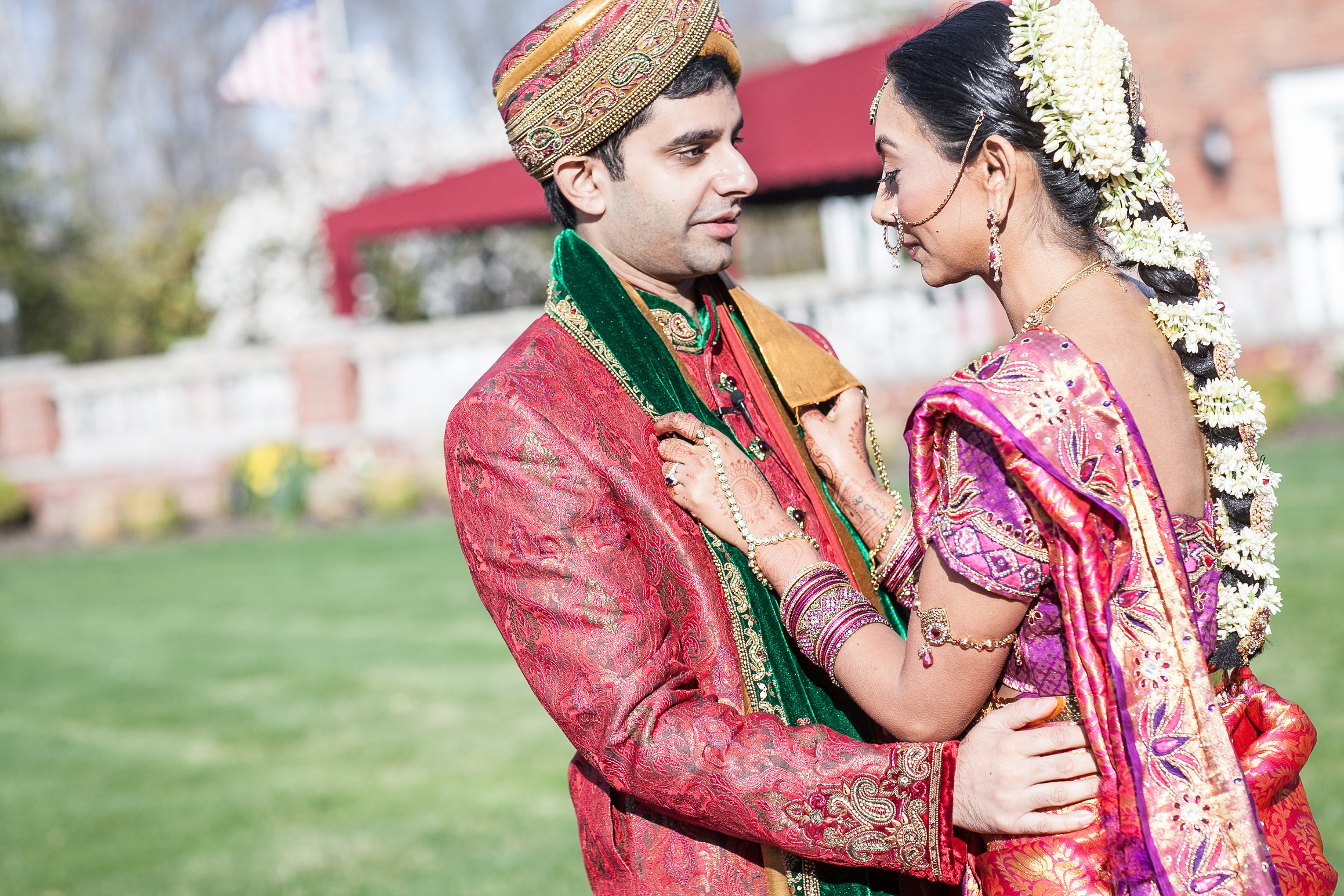 INDIAN COUPLE IN COLOR