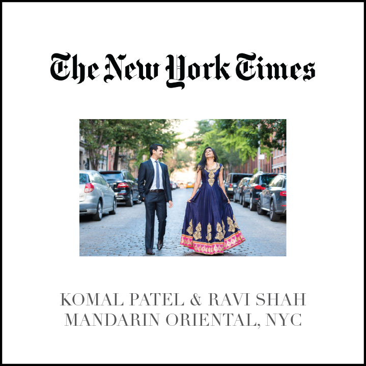 Premini Events Featured in NYT for Indian Wedding Planning