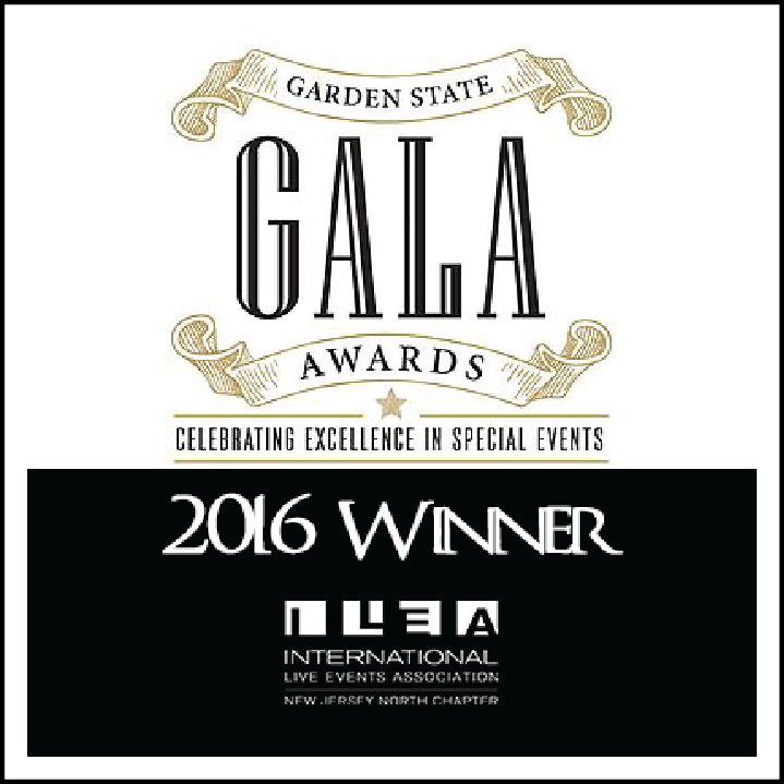 Premini Events, Winner of the Garden State Gala Awards