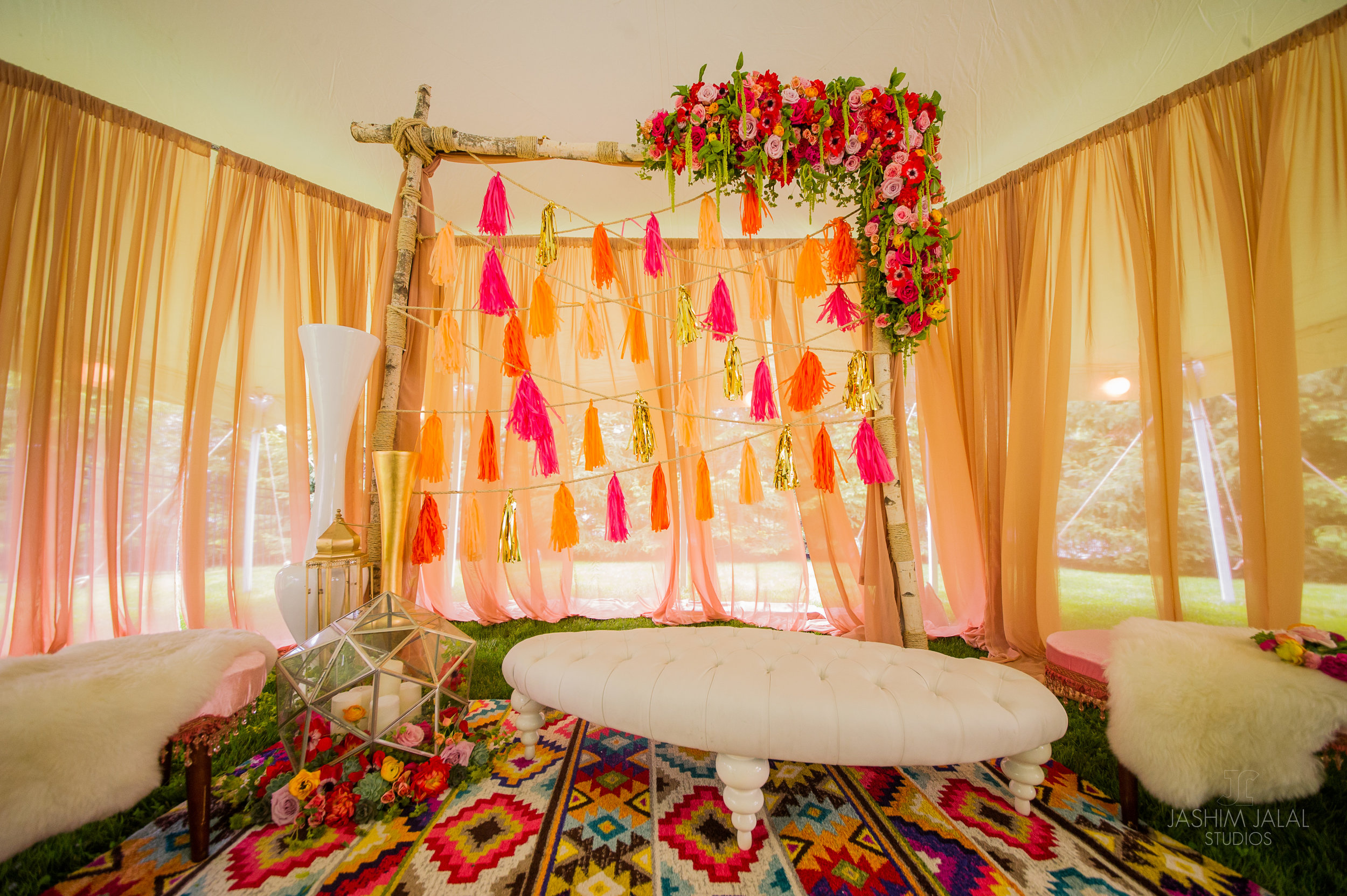 Indian Bridal Shower Boho Chic Summer Tent Event with Dancer (24).JPG