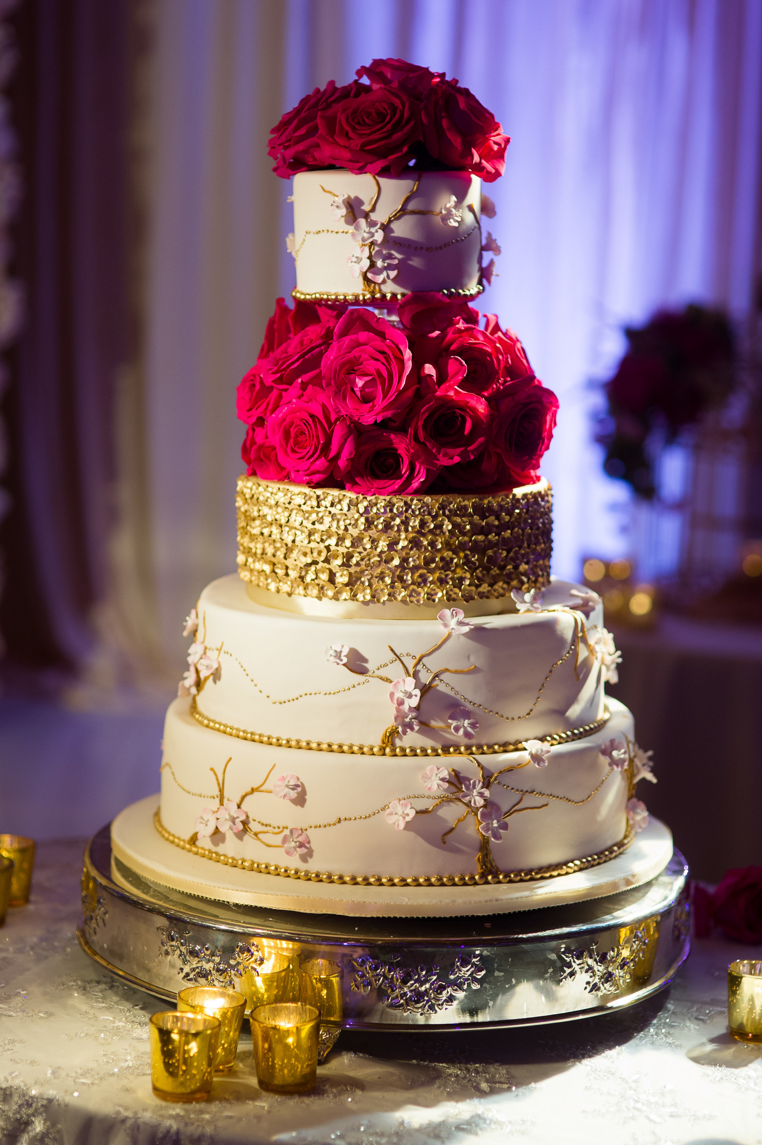 red gold and white cake.JPG