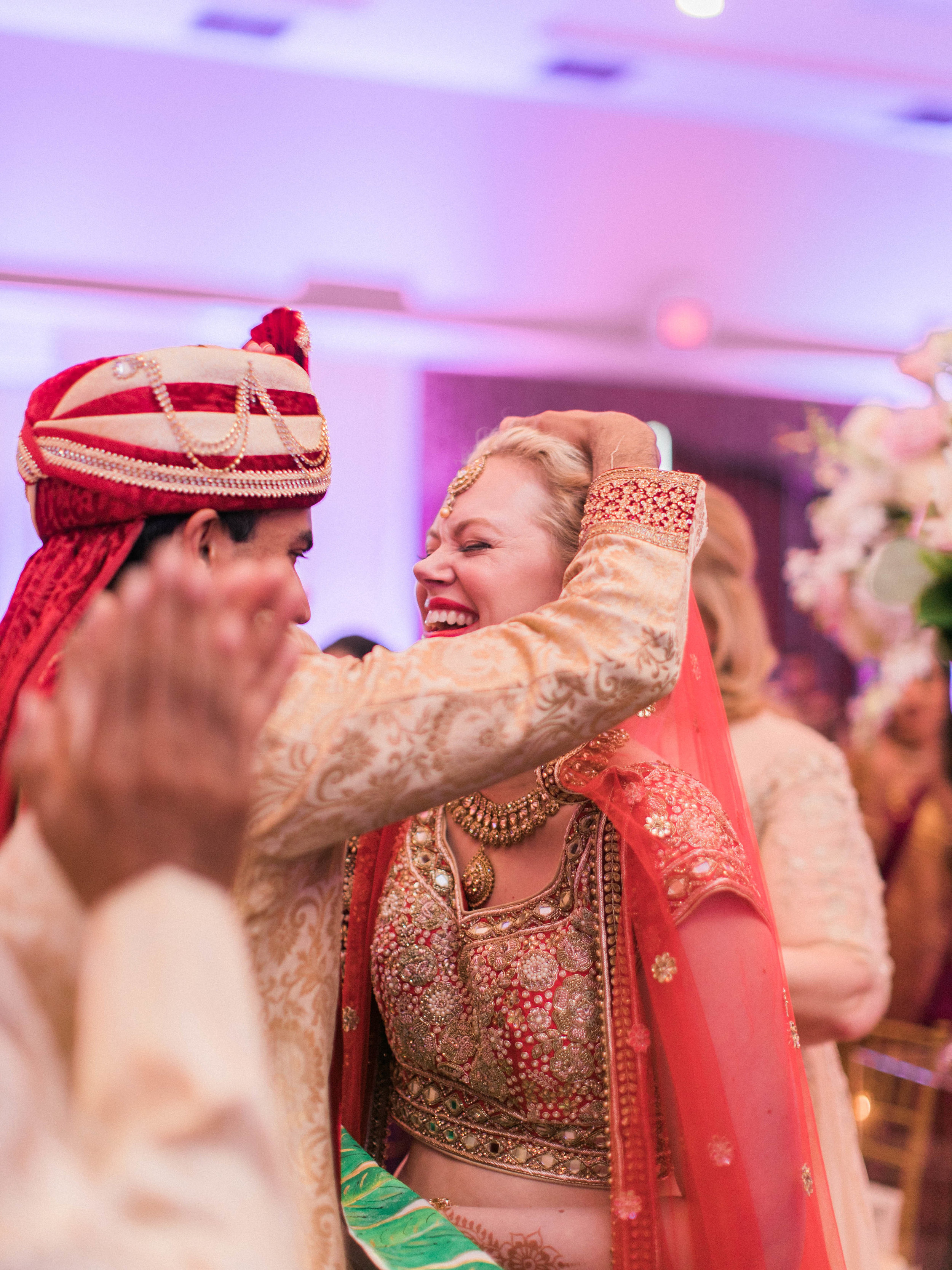 Happy Couple During Indian Wedding Rital.jpg