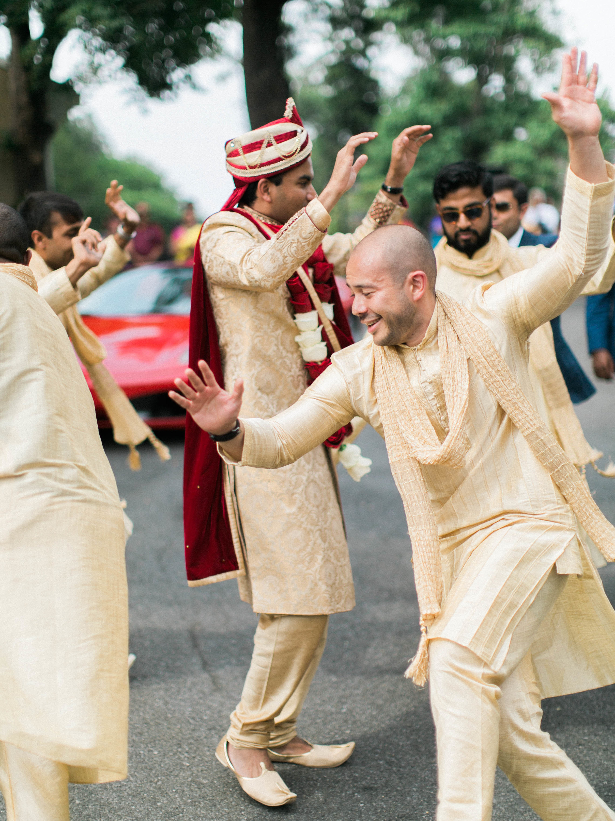 Indian Groom Dancing During Baraat.jpg