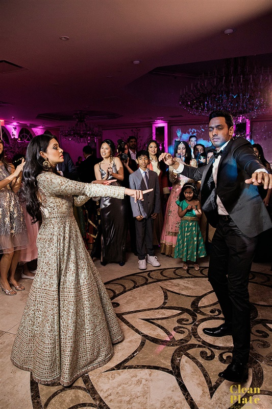 INDIAN WEDDING BRIDE AND GROOM ON DANCEFLOOR.jpg