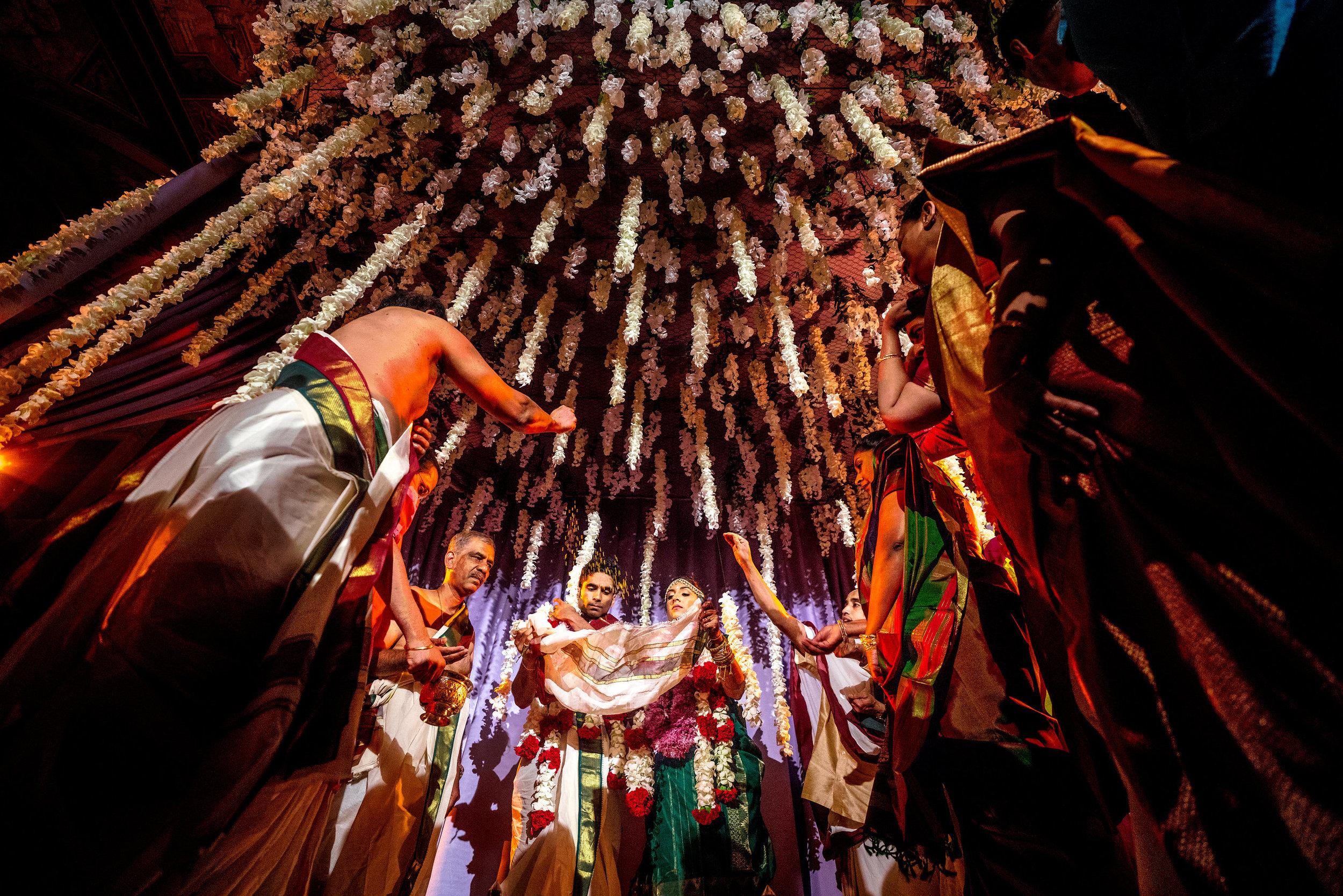 INDIAN WEDDING BRIDE AND GROOM CEREMONY FLOWER ALTER2.JPG