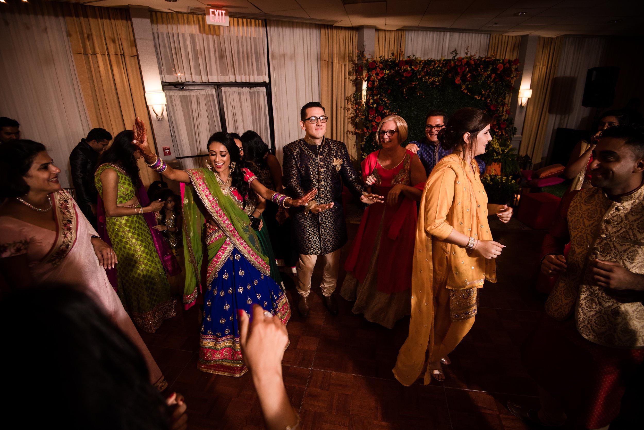 INDIAN WEDDING SANGEET BRIDE AND GROOM.jpg