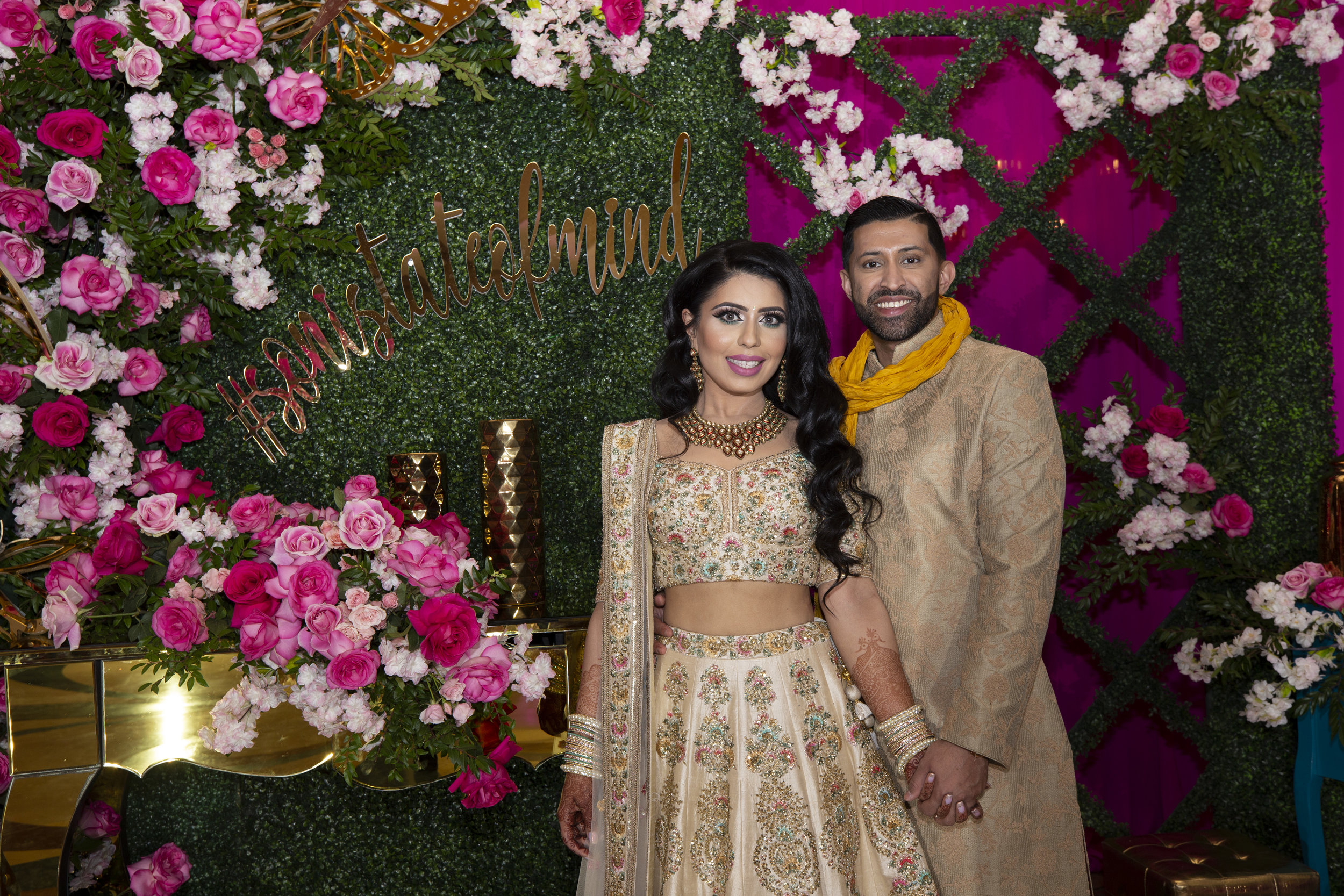 INDIAN WEDDING BRIDE AND GROOM SANGEET.JPG