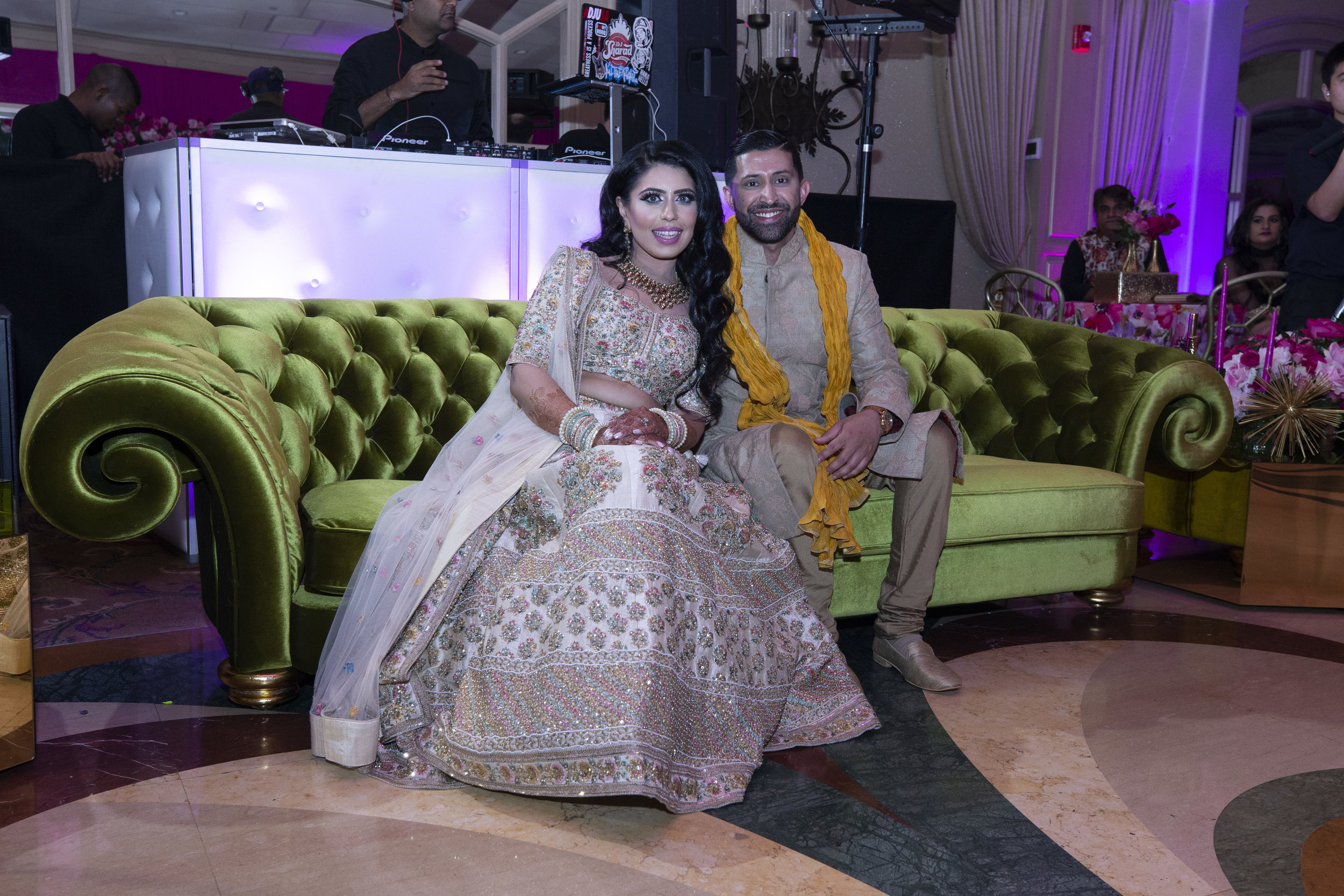 INDIAN WEDDING SANGEET BRIDE AND GROOM.JPG