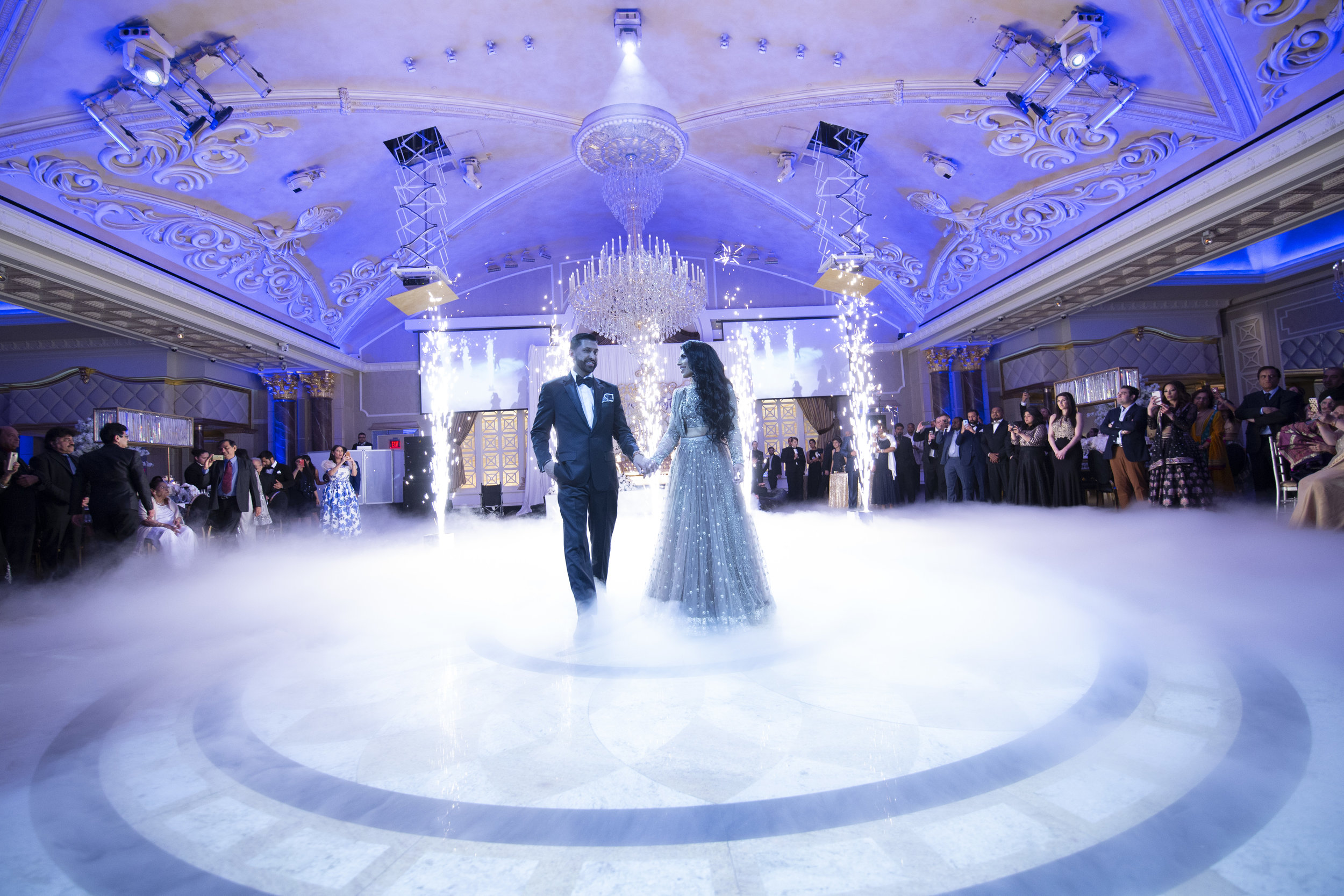 INDIAN WEDDING BRIDE AND GROOM FIRST DANCE.JPG
