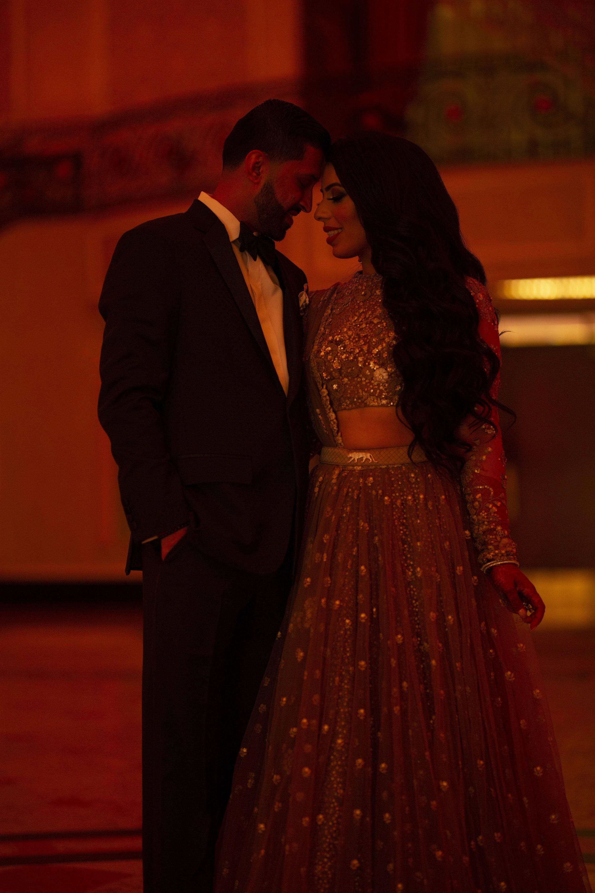 INDIAN WEDDING RECEPTION BRIDE AND GROOM 3.JPG