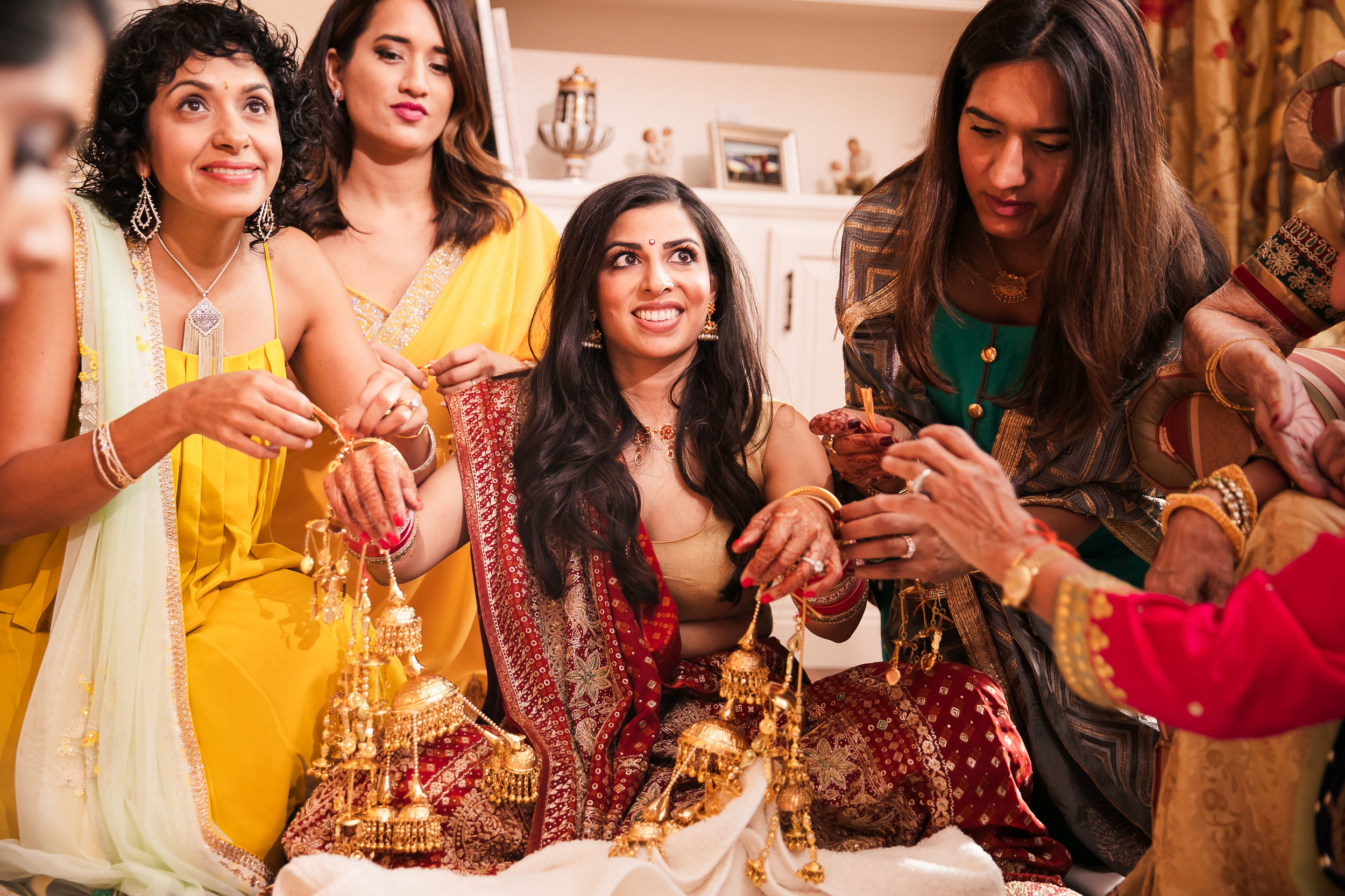 INDIAN WEDDING BRIDE AND AUNTS.jpg