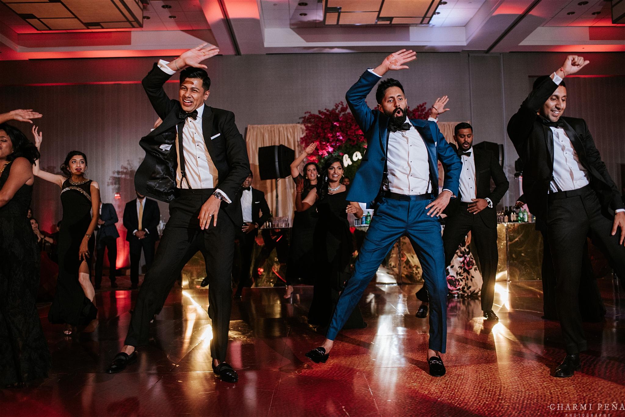 INDIAN WEDDING RECEPTION GROOM DANCING.jpg