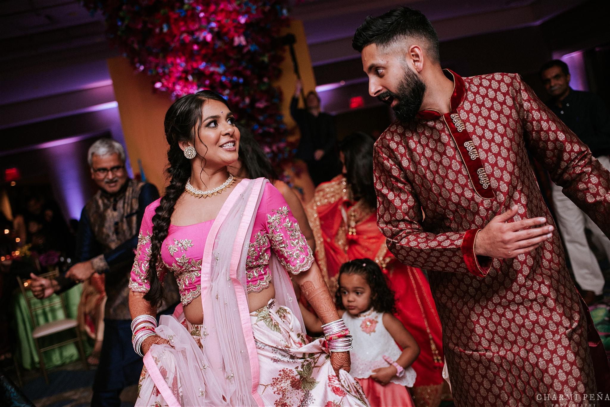 INDIAN WEDDING SANGEET BRIDE AND GROOM DANCING.jpg
