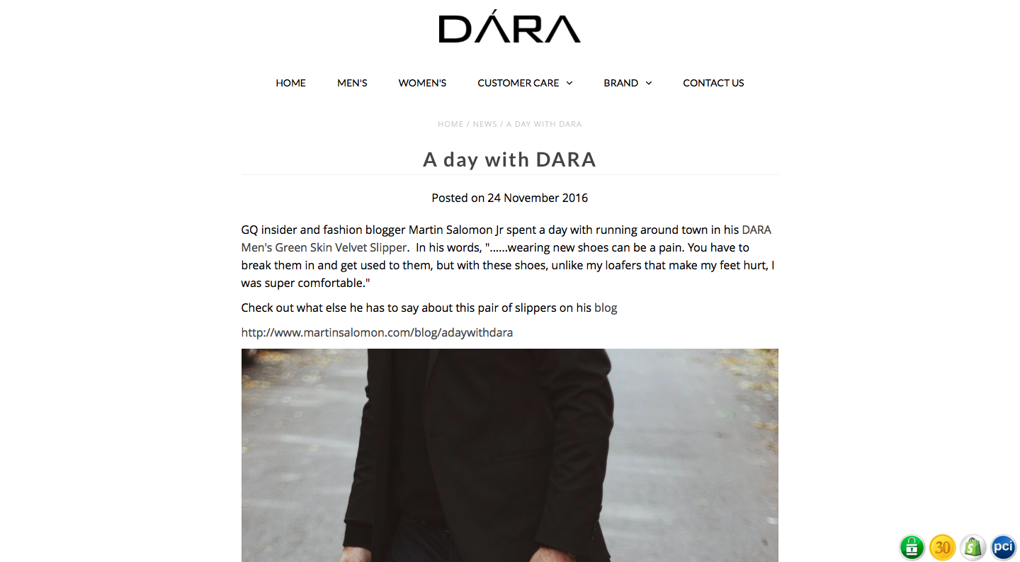 A day with DARA - DARA Shoes