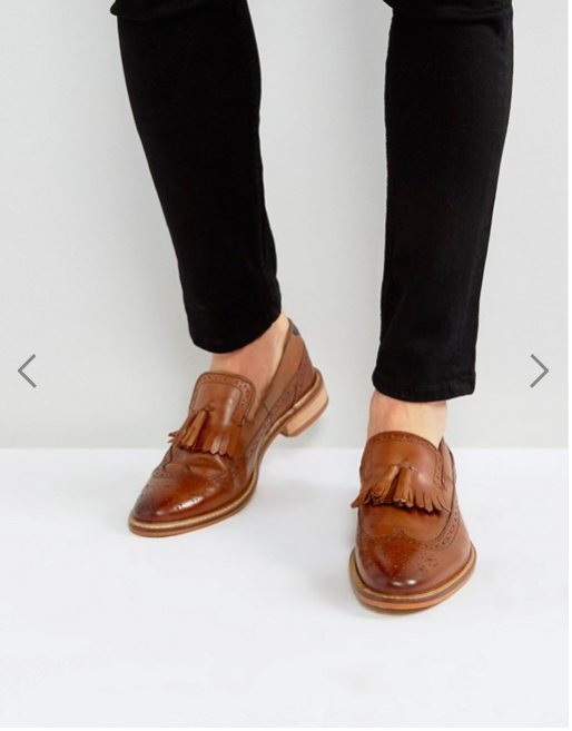 ASOS Loafers In Tan